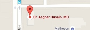 Asghar Husain, M.D - Shoulder, Elbow, Knee & Sports Medicine - Practice Location